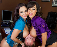 Ogling in the Office - Ava Addams - Lisa Ann - 3