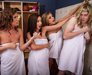 Locker Room Hijinks - Jada Stevens - Maddy Oreilly - Kennedy Leigh - 1