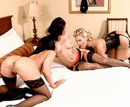 Peeping at the Keyhole - Kendra Lust - Phoenix Marie - Rachel Starr - 3