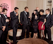 The Secret Soiree: Six-Man Gangbang - Bonnie Rotten - Veronica Avluv - 1
