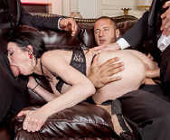 The Secret Soiree: Six-Man Gangbang - Bonnie Rotten - Veronica Avluv - 4