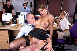 brazzers , best tits in the office