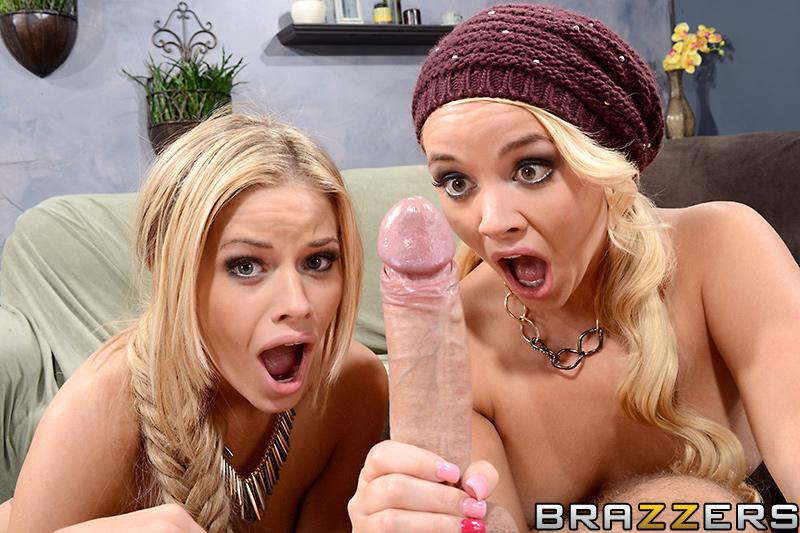 Секс состязание двух блондинок