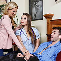Naughty Nurse, Horny Housewife