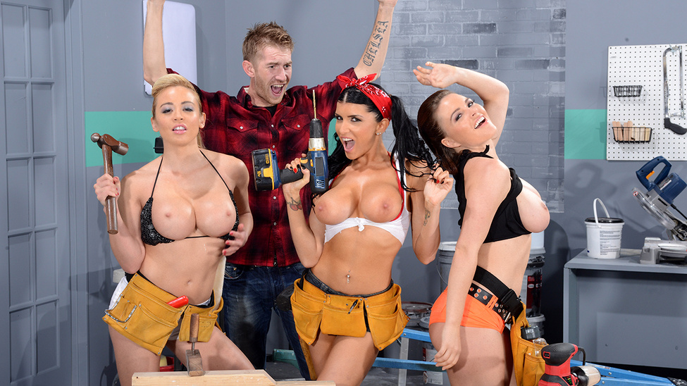 Getting Some Satisfaction – Krissy Lynn, Mia Lelani, Danny D & Romi Rain