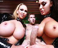 Who Ya Gonna Call? Porn Busters! - Leigh Darby - Ava Koxxx - 3