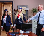 Tittyfuck Airways - Kagney Linn Karter - Kendra Lust - 1