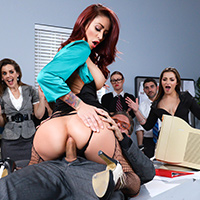 doggystyle anal office