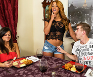 Look Who's Cumming for Dinner - Teanna Trump - 1