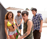 Boardwalk Boarding Boobies - Keisha Grey - 1