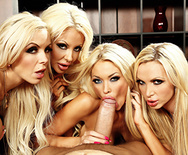 Office 4-play VI - Nikki Benz - Courtney Taylor - Summer Brielle - Nina Elle - 2