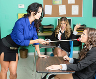 Ava and the Slutty Schoolgirls - Ava Addams - Abigail Mac - Ryan Ryans - 1