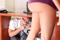 brazzers , under the desk