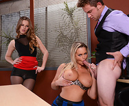 This Is How You Get The Job - Abbey Brooks - Jillian Janson - 2