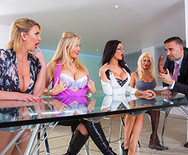 Office 4-Play VIII: UK Edition - Rebecca Moore - Tia Layne - Jasmine Jae - Leigh Darby - 1