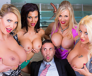 Office 4-Play VIII: UK Edition - Rebecca Moore - Tia Layne - Jasmine Jae - Leigh Darby - 2