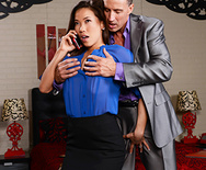 Wife Fucks Boss On Business Trip - Kalina Ryu - 1