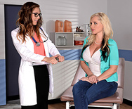 My Lesbian Doctor - Alena Croft - Val Dodds - 1