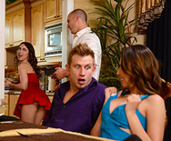 Dinner For Sluts - Riley Reid - Melissa Moore - 1