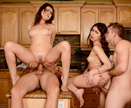 Dinner For Sluts - Riley Reid - Melissa Moore - 5