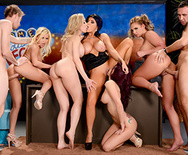 The Late Night Orgy - Brandi Love - Marsha May - Monique Alexander - Phoenix Marie - Romi Rain - 4