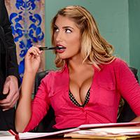 August Briefs Her Boss