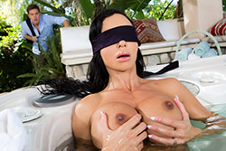 brazzers , my friend's blindfolded mom