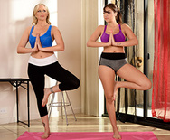 Yoga Freaks: Episode Two - Cassidy Banks - Julia Ann - 1