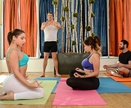 Yoga Freaks: Episode Four - Abella Danger - Cassidy Banks - 1