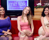 BRAZZERS LIVE 30: MILFTALK - Courtney Cummz - Diamond Foxxx - Puma Swede - Veronica Avluv - 1